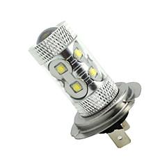 Недорогие Противотуманные фары-2x h7 px26d 50w 10xcold белый 3100lm 6500k для автомобильного противотуманного света (ac / dc12v-24)