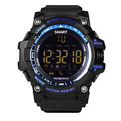 voordelige Smartwatches-Smart horloge Aanraakscherm Verbrande calorieën Stappentellers Afstandsmeting Berichtenbediening Camerabediening Lange stand-by Sportief