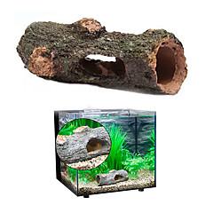 お買い得  アクアリウムデコレーション-アクアリウムの装飾 チューブ/トンネル 飾り 無毒&無味 樹脂