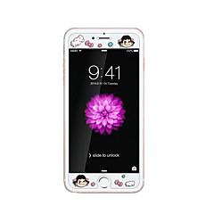 для Apple Iphone 6 / 6с 4.7inch закаленное стекло прозрачно протектор передний экран с выбивают мультфильм шаблон свечения в темноте