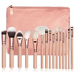 15 Wenkbrauwkwast Eyelinerkwast Concealerkwast Waaierkwast Poederkwast Foundationkwast Contour Brush Brush Sets Blushkwast Oogschaduwkwast