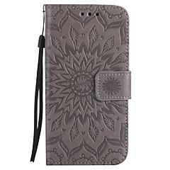 Kılıf Na Samsung Galaxy A5(2017) A3(2017) Portfel Etui na karty Z podpórką Flip Wytłaczany wzór Wzór Futerał Mandala Twarde Sztuczna skóra