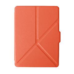 お買い得  タブレット用ケース-ケース 用途 Amazon フルボディーケース / タブレットケース ソリッド ハード PUレザー のために