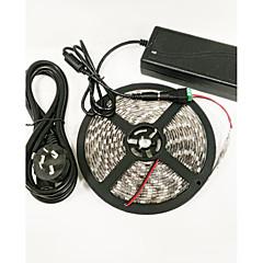 preiswerte LED Lichtstreifen-0,3 m / 5m Wachsende Neonbeleuchtung 300 LEDs 5050 SMD Rot / Blau Schneidbar / Wasserfest / Selbstklebend 100-240 V / IP65