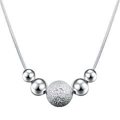 preiswerte Halsketten-Damen Statement Ketten - versilbert Modisch Silber Modische Halsketten Für Alltag