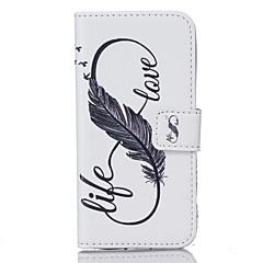 Χαμηλού Κόστους Galaxy S6 Θήκες / Καλύμματα-tok Για Samsung Galaxy S7 edge S7 Θήκη καρτών Πορτοφόλι Με σχέδια Πλήρης Θήκη Φτερά Σκληρή PU δέρμα για S7 edge S7 S6 edge plus S6 edge