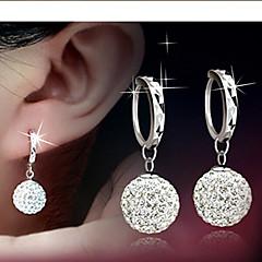 levne Dámské šperky-Náušnice kruhy Dámské Slitina Náušnice imitace drahokamu