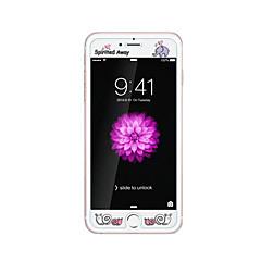για Apple iPhone 6 / 6δ συν 5.5inch γυαλί διαφανές προστατευτικό μπροστά οθόνης με ανάγλυφο καρτούν λάμψη μοτίβο στο σκοτάδι πνευματώδη