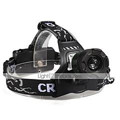 olcso Fejlámpák-U'King Fejlámpák Menetfény LED 2000 lm 3 Mód Cree XM-L T6 Nagyítható Kompakt méret Könnyű High Power Több funkciós