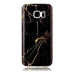 Χαμηλού Κόστους Galaxy S3 Θήκες / Καλύμματα-tok Για Apple S7 edge S7 IMD Πίσω Κάλυμμα Μάρμαρο Μαλακή TPU για S7 edge S7 S6 edge S6 S5 S4 S3