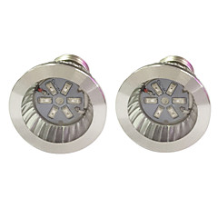 E14 GU10 E27 LED Grow Lights 6 SMD 5730 96-112 lm Red Blue K AC85-265 V