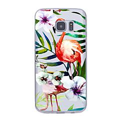 Для Ультратонкий С узором Кейс для Задняя крышка Кейс для Цветы Мягкий TPU для Samsung Note 5 Note 4