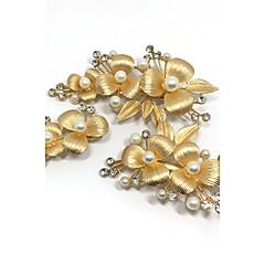 billige Hårsmykker-Dame Elegant Hårkam - Perle Krystal