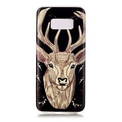 Na Świecące w ciemności IMD Wzór Kılıf Etui na tył Kılıf Wzór zwierzęcy Miękkie TPU na Samsung S8 S8 Plus S7 edge S7 S6 edge S6 S5