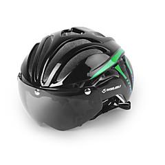 ieftine -biciclete Casca Ciclism 11 Găuri de Ventilaţie Ajustabil Vizor Munte Urban Față Integrală Ultra Ușor (UL) Tinerețe Ciclism montan Ciclism