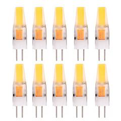 preiswerte LED-Birnen-YWXLIGHT® 10 Stück 2W 150-200lm G4 LED Doppel-Pin Leuchten T 1 LED-Perlen COB Dekorativ Warmes Weiß Kühles Weiß 12V 12-24V