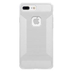 Для Полупрозрачный Кейс для Задняя крышка Кейс для Один цвет Мягкий Углеволокно для AppleiPhone 7 Plus iPhone 7 iPhone 6s Plus iPhone 6
