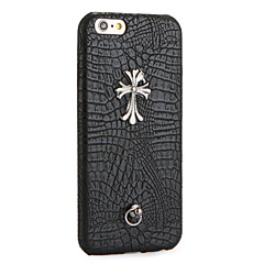 Voor DHZ hoesje Achterkantje hoesje Punk Hard PU-leer voor Apple iPhone 7 Plus iPhone 7 iPhone 6s Plus/6 Plus iPhone 6s/6