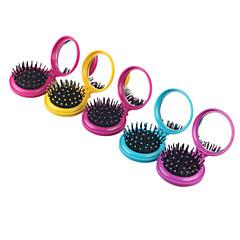 Cepillo y Peine Cabello Húmedo y Seco Reduce el Encrespamiento Masaje Plegable Ligeras Anti Estático Normal