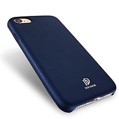 Для Защита от пыли IMD Кейс для Задняя крышка Кейс для Один цвет Твердый Искусственная кожа для AppleiPhone 7 Plus iPhone 7 iPhone 6s