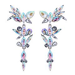 preiswerte Ohrringe-Damen Geometrisch Tropfen-Ohrringe - Böhmische, Modisch, Euramerican Weiß / Rot / Regenbogen Für Hochzeit / Party / Besondere Anlässe