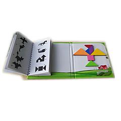 abordables Modelos de Exposición-Tangram Bloques de Construcción Magnética Niños Unisex Chico Chica Juguet Regalo