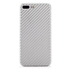 Недорогие Кейсы для iPhone 6-Кейс для Назначение Apple iPhone 7 Plus iPhone 7 Защита от удара Кейс на заднюю панель Сплошной цвет Твердый Углеродное волокно для