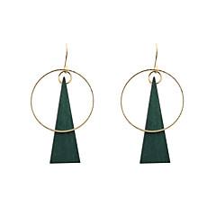 preiswerte Ohrringe-Damen Tropfen-Ohrringe - Einzigartiges Design, Modisch, Euramerican Grün Für Hochzeit / Party / Alltag