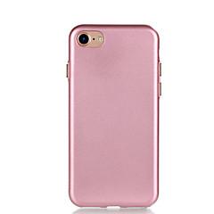 Для Покрытие Кейс для Задняя крышка Кейс для Один цвет Мягкий TPU для AppleiPhone 7 Plus iPhone 7 iPhone 6s Plus iPhone 6 Plus iPhone 6s