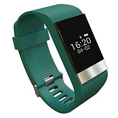 olcso Okos órák-yyr2 okos karkötő / smart watch / vízálló pulzusmérőt intelligens karóra karkötő lépésszámláló fit ios andriod app