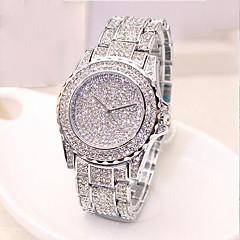 お買い得  レディース腕時計-女性用 ファッションウォッチ 宝飾腕時計 日本産 クォーツ 30 m カジュアルウォッチ 合金 バンド ハンズ ぜいたく ゴールド / ローズゴールド - ゴールド シルバー ローズゴールド 2年 電池寿命 / Sony SR626SW