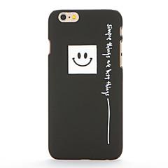 Для Матовое С узором Кейс для Задняя крышка Кейс для Слова / выражения Твердый PC для AppleiPhone 7 Plus iPhone 7 iPhone 6s Plus iPhone 6