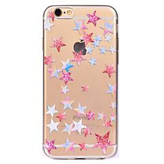 Недорогие Кейсы для iPhone 7-Кейс для Назначение Apple iPhone 7 / iPhone 7 Plus Прозрачный / С узором Кейс на заднюю панель Геометрический рисунок Мягкий ТПУ для iPhone 7 Plus / iPhone 7 / iPhone 6s Plus