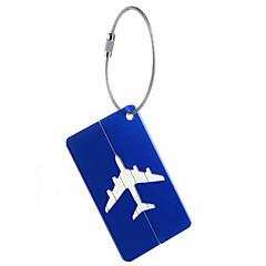 abordables Accesorios de Viaje-1pc Etiqueta para Maletas Alarma Anti pérdida para Alarma Anti pérdida Aleación de aluminio - Amarillo / Té / Wine