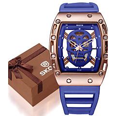 preiswerte Herrenuhren-Herrn Quartz Armbanduhr / Armband-Uhr / Militäruhr / Sportuhr Wasserdicht / Großes Ziffernblatt / Punk / Cool / Nachts leuchtend Silikon