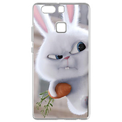 For Huawei P9 Pattern Case Back Cover Case Holding A Carrot Rabbit Soft TPU for  Huawei P9 / P9 Lite / P8 / P8 Lite