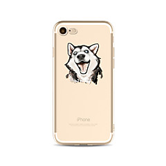Case For Apple iPhone X iPhone 8 Plus Transparent Pattern Back Cover Dog Soft TPU for iPhone X iPhone 8 Plus iPhone 8 iPhone 7 Plus