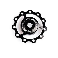 abordables Otros Accesorios para Bicicleta-Rueda de guía de bicicleta BMX / Bicicleta de Montaña / Bicicleta de Pista 7075 aleación de aluminio - Plata / Rojo / Azul