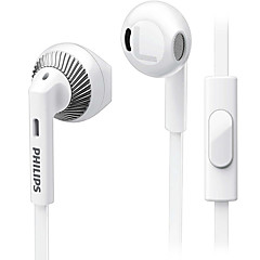 PHILIPS SHE3205 Mobile Earphone for Cellphone Computer In-Ear Wired Plastic 3.5mm With Microphone Noise-Cancelling