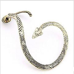 preiswerte Ohrringe-Damen Ohr-Stulpen - Schlange Erklärung, Personalisiert, Punk Bronze / Golden / Silber / Gray Für Hochzeit Party Alltag