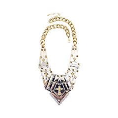 Жен. Ожерелья с подвесками Бижутерия Одинарная цепочка Крестообразной формы Медь Мода Панк По заказу покупателя Хип-хоп Rock