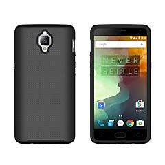 Voor een plus 3 3t case hoesje schokbestendige back cover vaste kleur harde pc een plus x