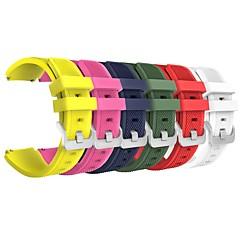 6 шт для samsung gear s3 frontier / s3 классические сменные ремни ремень ремень мягкий силиконовый ремешок на браслет