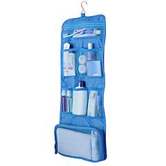 حقيبة أدوات تجميل للسفر منظم أغراض السفر مقاوم للماء المحمول قابلة للطى تخزين السفر متعددة الوظائف إلى ملابس قماش / سادة