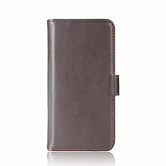 For MOTO G5 plus G5 Mobile Phone Shell Card Holder Wallet Flip Case Full Body Case Solid Color Hard Genuine Leather for  Motorola Series