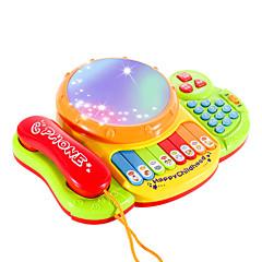 Bildungsspielsachen Spieltelefone Spielzeuge Quadratisch Stücke Unisex Geschenk
