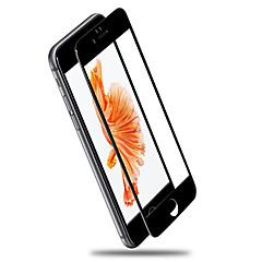 Недорогие Защитные пленки для iPhone 7-Защитная плёнка для экрана для iPhone 7 Закаленное стекло 1 ед. HD / Уровень защиты 9H / 2.5D закругленные углы