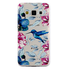 voordelige Galaxy A3 Hoesjes / covers-hoesje Voor Samsung Galaxy A5(2017) A3(2017) Transparant Reliëfopdruk Patroon Achterkantje dier Zacht TPU voor A3 (2017) A5 (2017) A5 A3