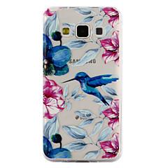 olcso Galaxy A3 tokok-Case Kompatibilitás Samsung Galaxy A5(2017) A3(2017) Átlátszó Minta Dombornyomott Fekete tok Állat Puha TPU mert A3 (2017) A5 (2017) A5 A3