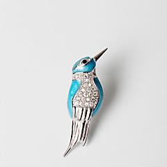 お買い得  イヤリング-女性用 スタッドピアス - 純銀製 レディース オリジナル ユニーク 欧米の ジュエリー ブルー 用途 結婚式 パーティー 誕生日 贈り物